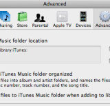 Migrating an iTunes Library